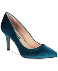 Inc International Concepts Womens Zitah Pointed Toe Pumps Only At Macy's Women's Shoes Jade