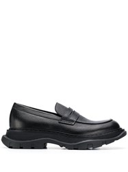 Alexander Mcqueen Chunky Loafers Black