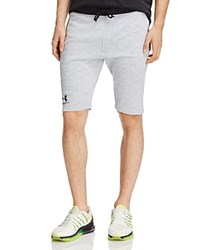 Under Armour Tapered Jogger Shorts Overcast Gray