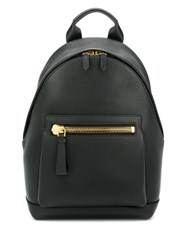 Tom Ford Classic Zipped Backpack Black
