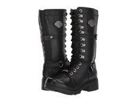Harley Davidson Harland Black Women's Lace Up Boots