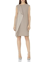 Reiss Cora Zip Detail Dress Sherwood