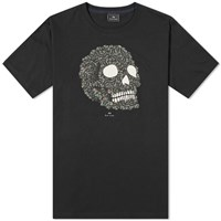 Paul Smith Zebra Skull Tee Black