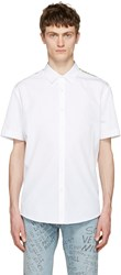 Gucci White Silk Panel Shirt