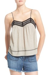 Hinge Women's Embroidered Tank