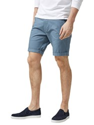 Selected Homme Three Paris Chino Shorts Blue Mirage