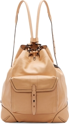 Rag And Bone Nougat Leather Grayson Backpack