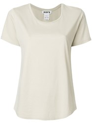 Hope Round Neck T Shirt Nude And Neutrals