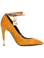 Tom Ford Ankle Strap Pumps Nude Neutrals