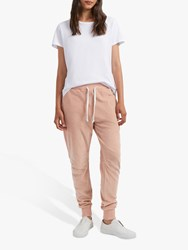 French Connection Ruthie Cotton Jogger Trousers Ballet Blush