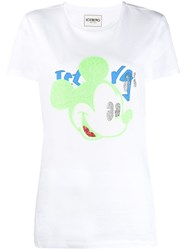 Iceberg Illustrated T Shirt White