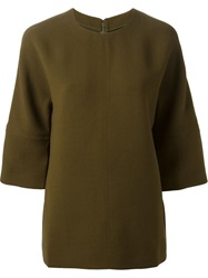 Marni Three Quarter Length Sleeve Top Green