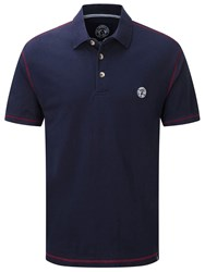 Tog 24 Holt Mens Polo Shirt Blue
