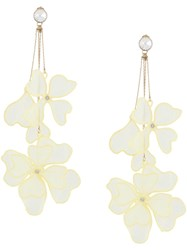 Red Valentino Floral Drop Earrings 60