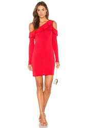 Clayton Colette Dress Red
