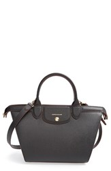 Longchamp 'Le Pliage Heritage' Leather Satchel