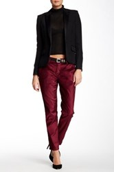 Siwy Fiona Slouchy Cropped Chino Pant Red