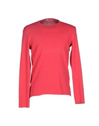 Tanomu Ask Me Knitwear Jumpers Men Fuchsia