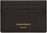 Common Projects Woman By Black Saffiano Multi Card Holder