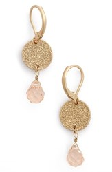 Women's Cara Crystal And Coin Drop Earrings