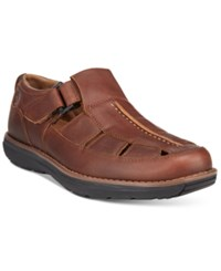 Timberland Men's Barrett Fisherman Sandals Men's Shoes Medium Brown