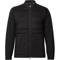 Nike Golf Aeroloft Perforated Quilted Shell Golf Jacket Black