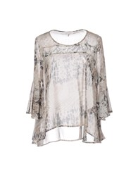 Lucky Lu Milano Blouses Ivory