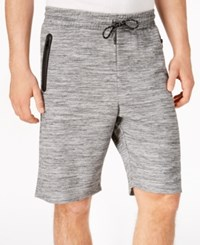 Ring Of Fire Men's Heathered Knit Shorts Charcoal