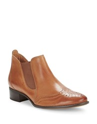 Paul Green Ava Wingtip Ankle Boots Brown
