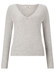 Alice By Temperley Somerset By Alice Temperley Cashmere V Neck Jumper Grey