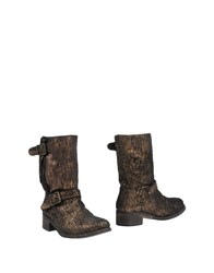 Islo Isabella Lorusso Ankle Boots Bronze
