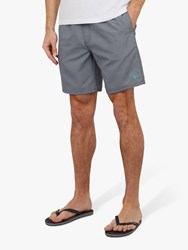 Ted Baker Alantic Patterned Swim Shorts Navy