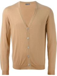 Drumohr Buttoned Cardigan Nude And Neutrals