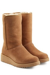 Ugg Australia Classic Slim Suede Boots Brown
