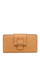 Kooba Tab Leather Wallet Beige
