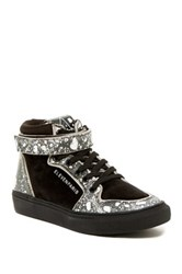 Eleven Paris Sneaker Space Hi Top Sneaker Black