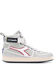 Diadora X Lc23 Mi Basket Sailing Sneakers Grey