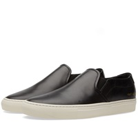 Common Projects Slip On Leather Black