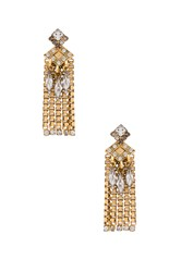 Elizabeth Cole Nala Earring Metallic Gold