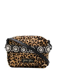 Golden Goose Snow Leopard Print Crossbody Bag 60