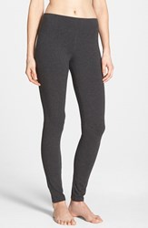 Women's Hue 'Ultra' Wide Waistband Leggings Graphite Heather