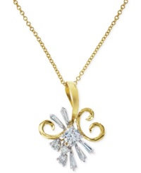 Effy Collection Effy Diamond Statement Pendant Necklace In 14K Gold 1 2 Ct. T.W.
