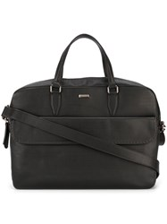 Zanellato Zipped Top Briefcase Brown