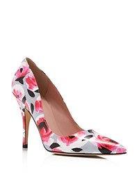 Kate Spade New York Licorice Pointed Toe Pumps Deep Pink