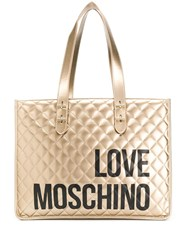 Love Moschino Quilted Logo Tote Bag 60