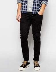 Antony Morato Super Skinny Trousers In Black Cotton