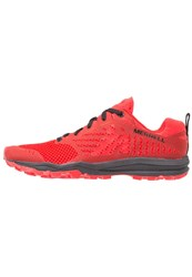 Merrell Dexterity Trail Running Shoes Black Red