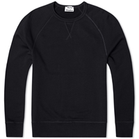 Acne Studios Acne College Crew Sweat Black