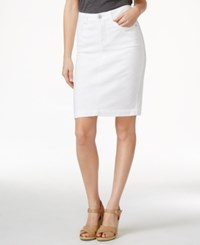 Styleandco. Style And Co. Denim White Wash Skirt Only At Macy's