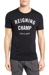 Reigning Champ Men's 'Gym Logo' Graphic T Shirt